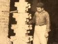 Mario Chiocchio (Oratino, 1917 - 2014), Una guglia del Santuario di Castelpetroso, anni Sessanta.jpg